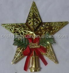 Promotional Hanging Star /Christmas tree top star,christmas tree decoration