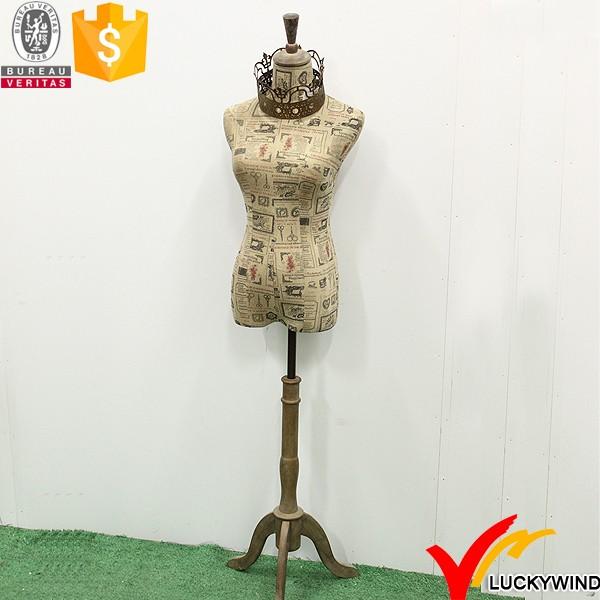 Crown Decor Tripod Stand Vintage Dress Form Mannequin - Buy ...