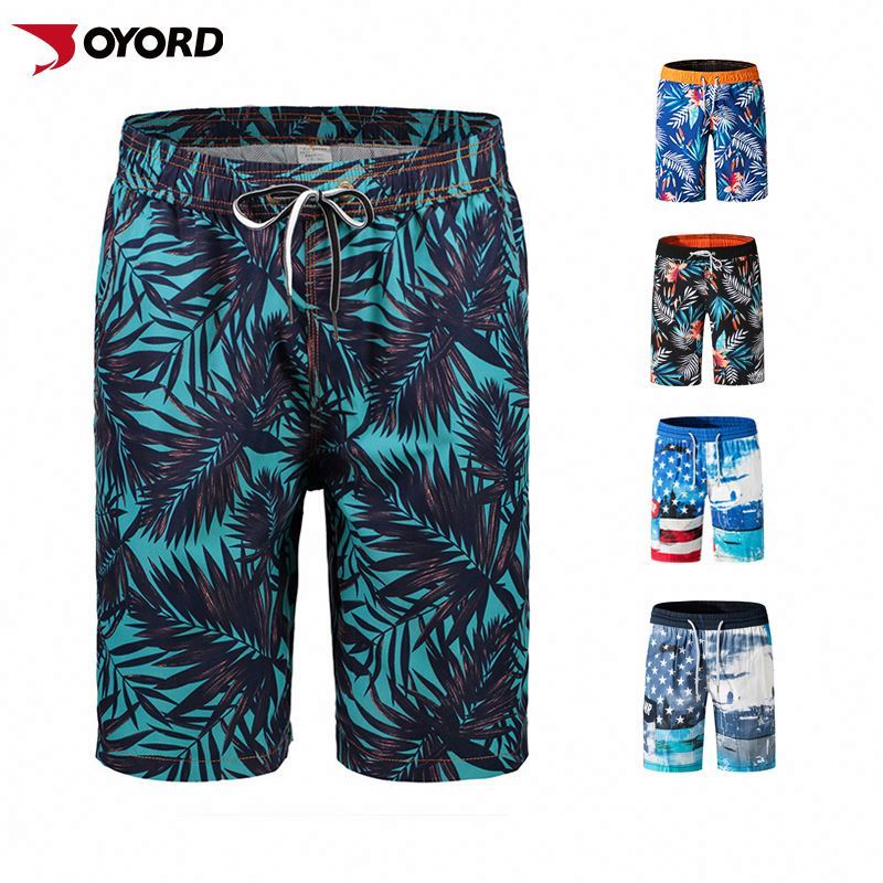 Wholesale Surf Quick Dry Breathable Mens Shorts Boys Beachwear