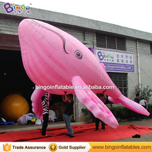 New 2017 Inventions Pink Inflatable Whale for sale