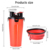 Speedypet Dual Chambered Storage Container Dog Bowl Water Bottle,Collapsible Dog Bowl Travel Pet Food Water Bottle