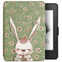 Smart case for new kindle 2016,High quality PU leather flip cover for Amason kindle touch