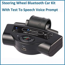 Bluetooth car kit lenkrad handsree car kit bluetooth mit tts anrufer-id spanisch Ansage