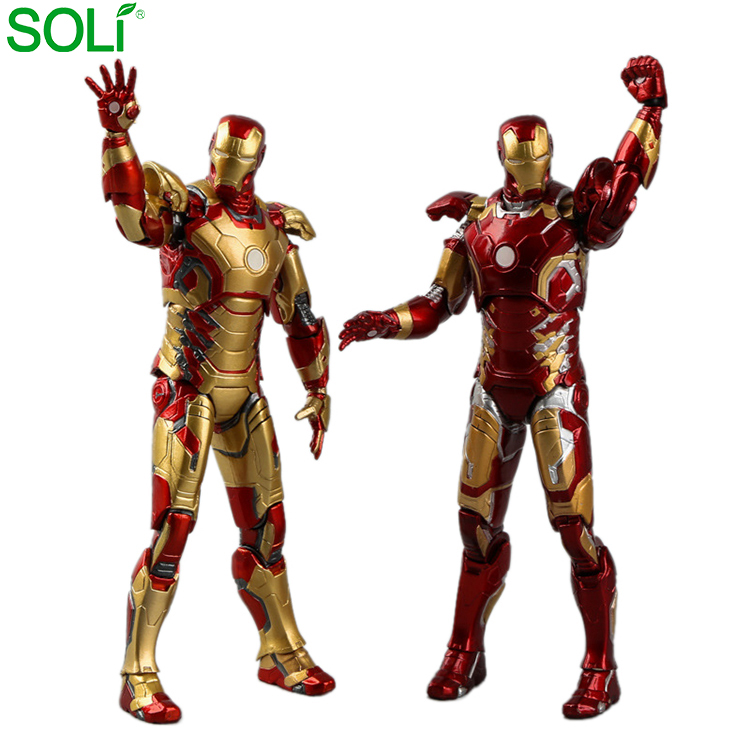 2 stile Misto Mobile Marvel Toy Ironman Action Figure