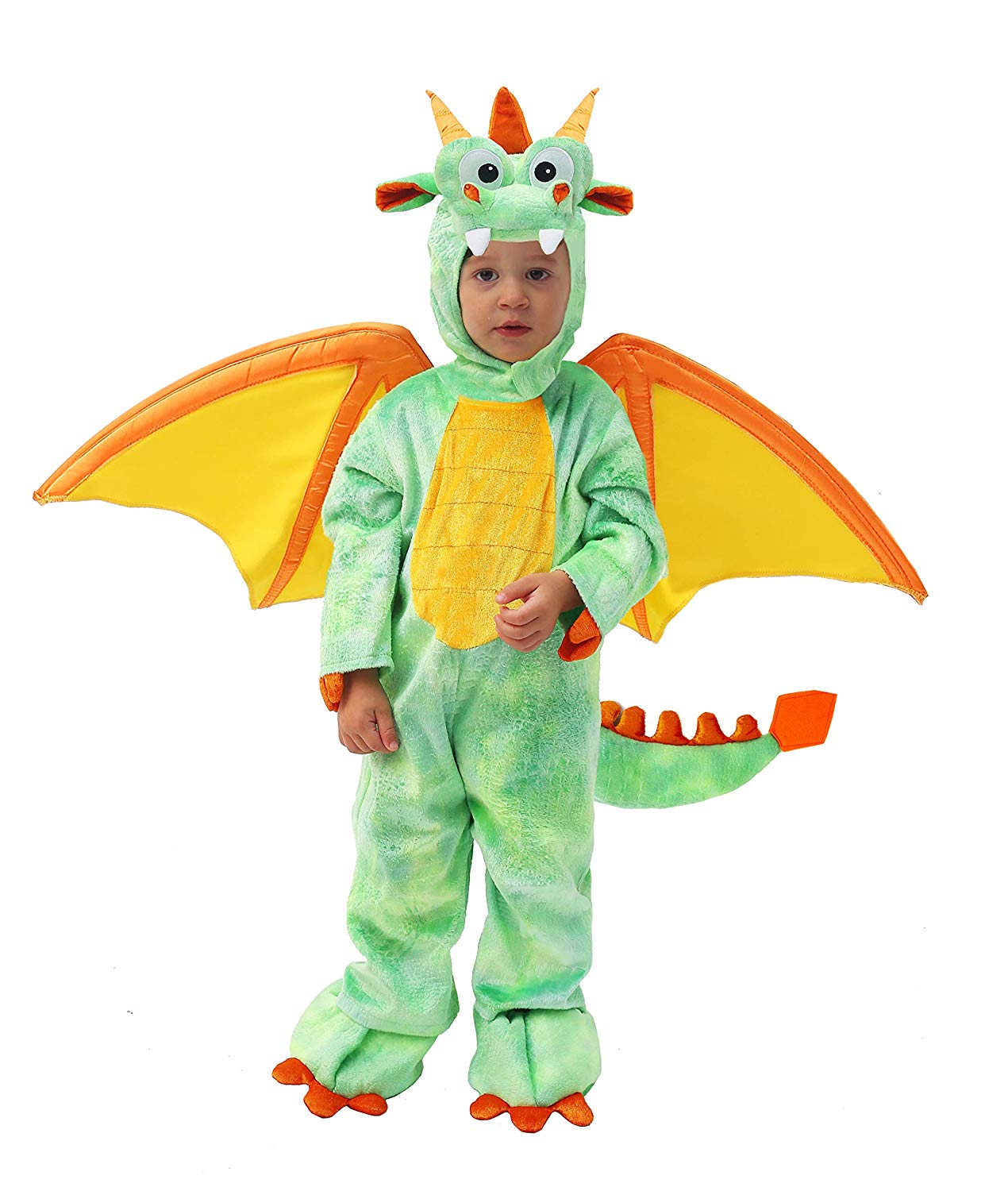 Spooktacular Creations Deluxe Dragon Costume Set with Toys for Kids Role Play