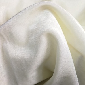 High density silk cotton spandex fabric for woman