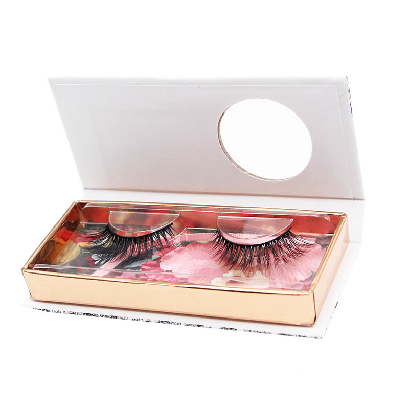 Benutzerdefinierte False Eye Lash Verpackung Box Private Label 3D Nerz Wimpern