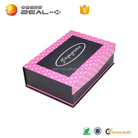 Our Main Products Refund Sample Fee 2012 Hot Sale Folding Paper T-shirt Packaging Box