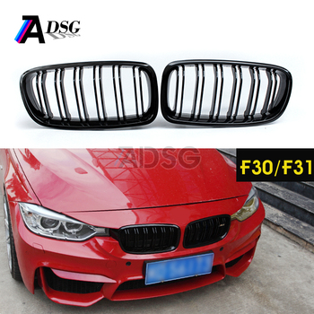 M3 Style Black F30 Front Kidney Grille For Bmw 3 Series F31 2012