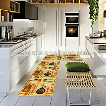 Modern Kitchen Mat Carpet Rug Runner