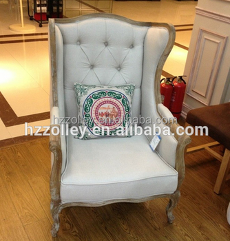 Living Room Furniture High Back Chair/wing Back Armchair