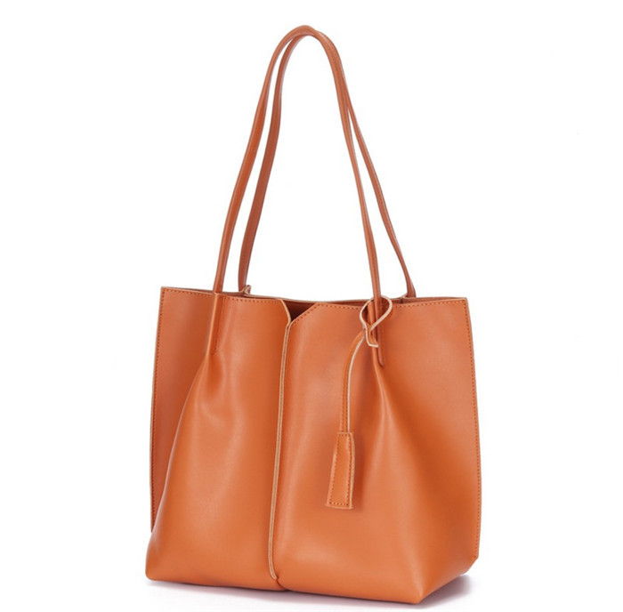 Latest new genuine leather lady bags women handbag tote bag