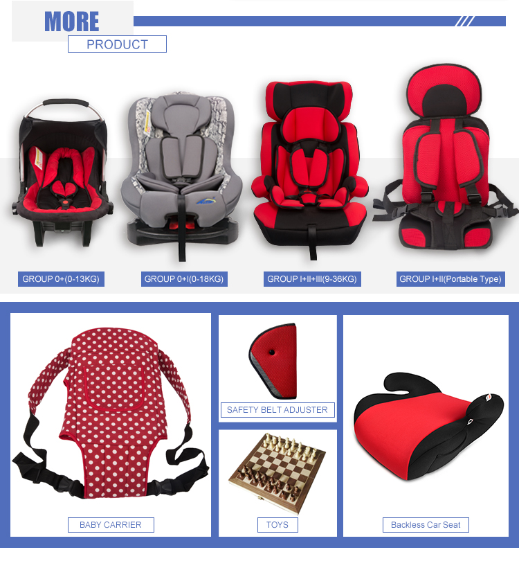Hot sale ECE R44/04 certification hdpe material unique baby car seat (group 0+1+2, 0-13kg)