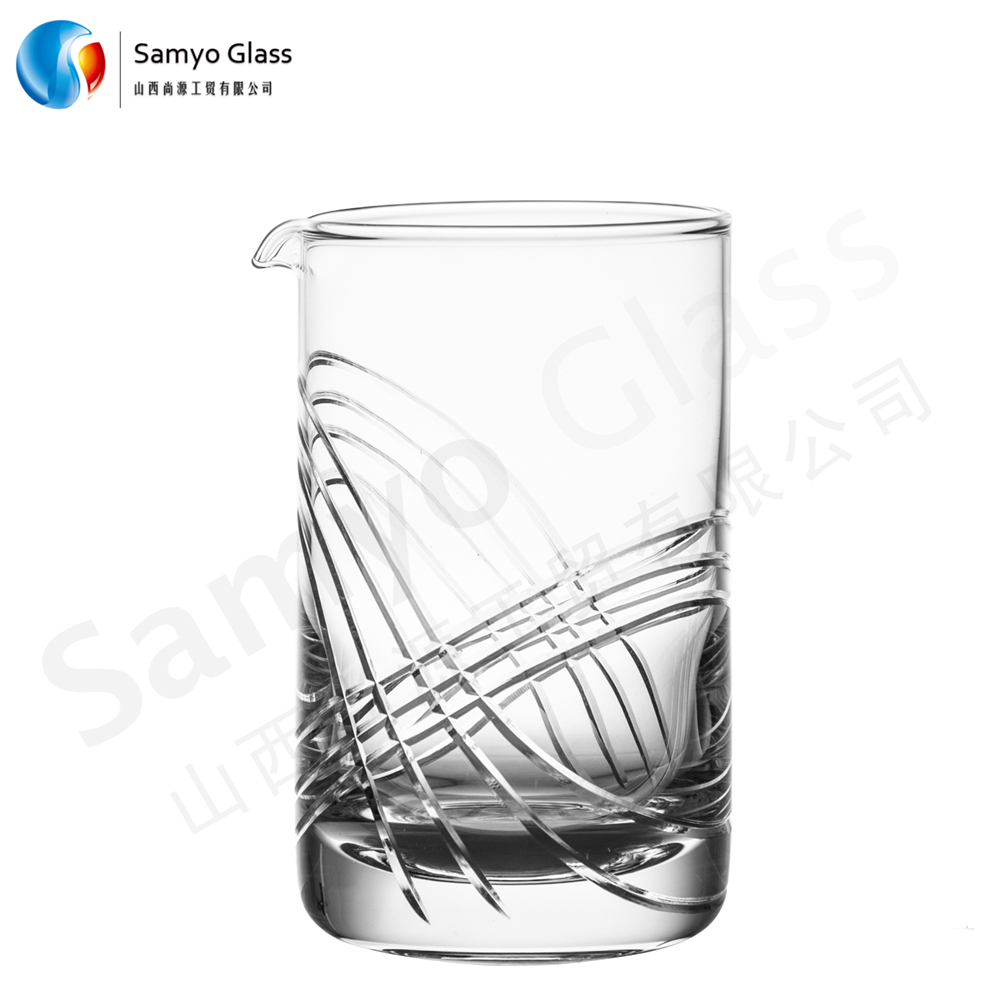 Samyo wholesale Mouth Blown cocktail glass cup with ECO-FRIENDLY