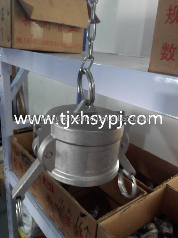 "factory sale low price 11/2"" npt customized forged female threaded brass garden hose high flow coupling"