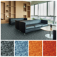 Colorful Commercial PVC Vinyl Flooring for Office