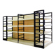 High quality Wooden Furniture Display rack metal wood shelf makeup display stand