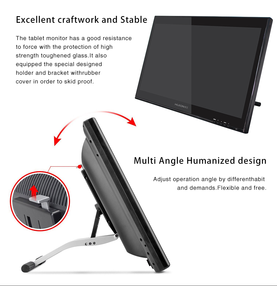 2015 New Huion Gt 190 Cheap 19 Inches Lcd Graphics Tablet Monitor Pen Display Drawing Buy