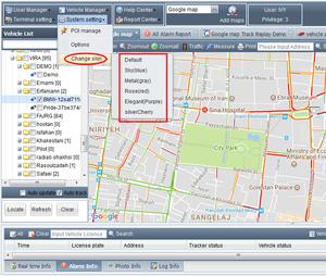 free download tk06a tk106 TK102 satellite receiver tracker car bus taxi  vehicle fleet management tracking software