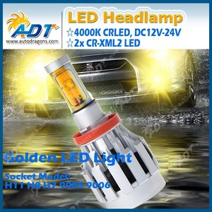 The generation 4th All in one led headlight 3000K 4000K 4300K H4 H7 9005 H8 LED headlight head lamp