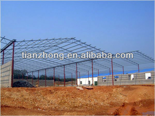 Gable Frame Steel Structure For Building