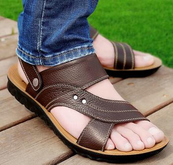 669a74eca716 d73216h 2016 summer new design men sandals fashion mens sandals shoes  wholesale leather sandals mens