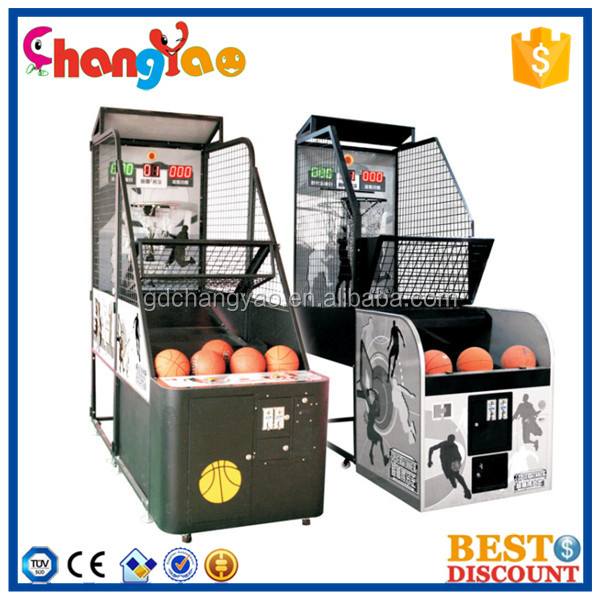 Hot Selling Whloesale Arcade Game Machine Basketball Supplier