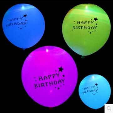 Image result for led balloon birthday