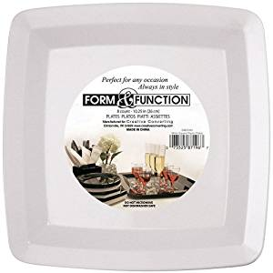 Form \u0026 Function Square 7-inch White Plastic Plates 72 Per Box  sc 1 st  Alibaba & Cheap Square White Plastic Plates find Square White Plastic Plates ...