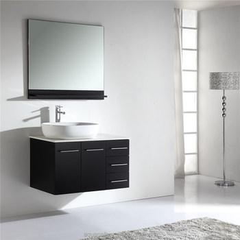 44 Inch Bathroom Corner Single Sink Solid Wood Vanity Buy 44 Inch