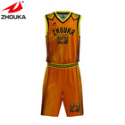 Custom brand tracksuits sublimated basketball clothing jersey uniform men reversible basketball wear uniform