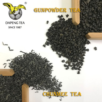Wholesale China Green Tea chunmee tea and gunpowder tea 25g