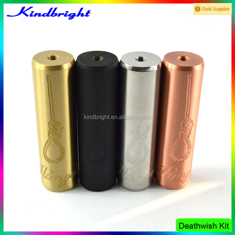 2016 1:1 quality clone hot sale Deathwish Kit/rogue mech mod clone / crossbones Mod in stock