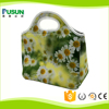 custom office neoprene lunch bag cooler for lady