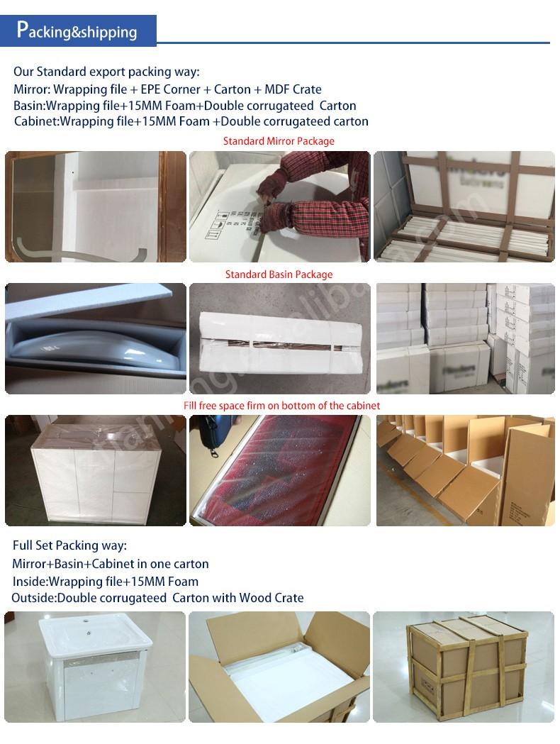 단단한 나무 욕실 캐비닛 무료 서 현대적인 욕실 세면대 S8844 - Buy ...