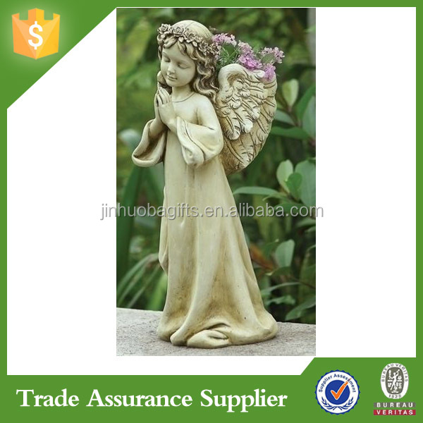Latest Design Customized Garden Decoration Kid Boy Nude Angel Statue