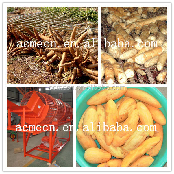 MCU-PC cassava peeler machine