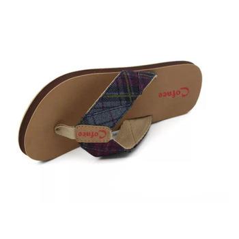 5d8691f0a Cheap Wholesale Women Eva Fabric Wide Strap Flip Flops - Buy Fabric ...