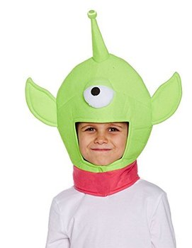 Boys Girls One Eyed Monster Hat for Child Toy Space Alien Story Book Fancy Dress SA3600