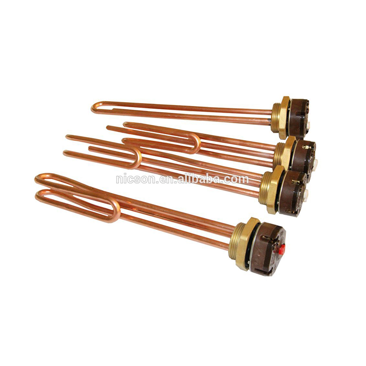 Products from china imported high quality hot brass flange heating element