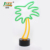 decorative colourful commercial indoor pineapple mini led sign