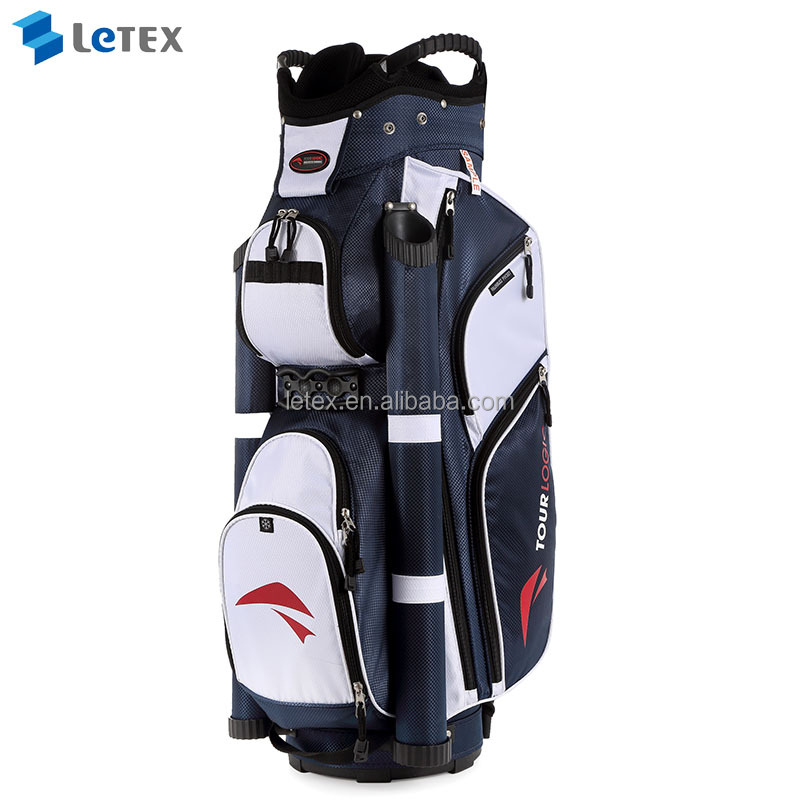 customizable golf cart bag, use your own logo. click to enlarge. Custom ...