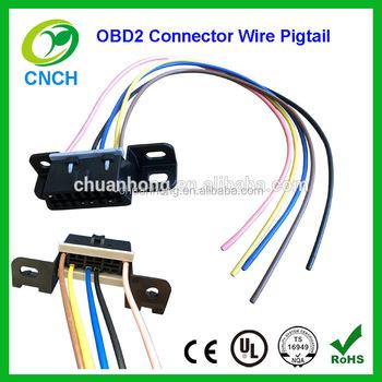 obdii obd2 aldl wiring harness connector pigtail for gm. Black Bedroom Furniture Sets. Home Design Ideas