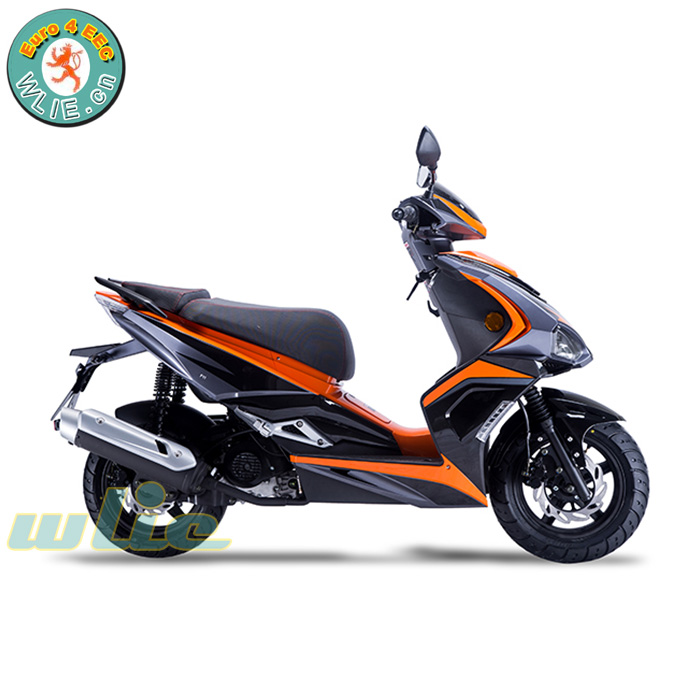 China factory price 새 성인 오토바이 50cc red 스쿠터 mini gas 125cc F11 (Euro 4)
