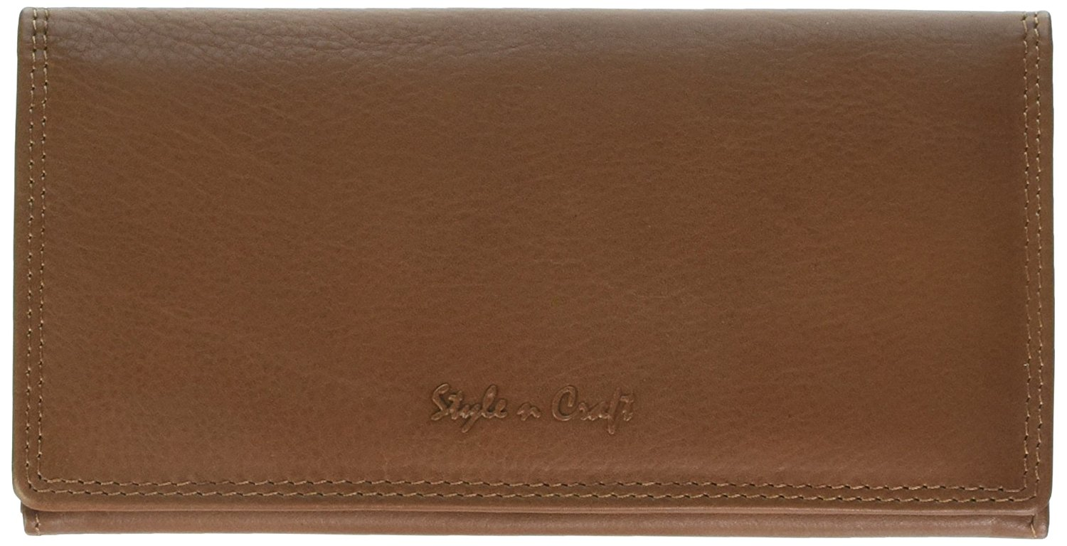 Style n Craft 300965 Ladies Clutch Wallet in Soft Cow Nappa Leather