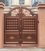 Gates metal gate/ iron main gate designs for house made in China