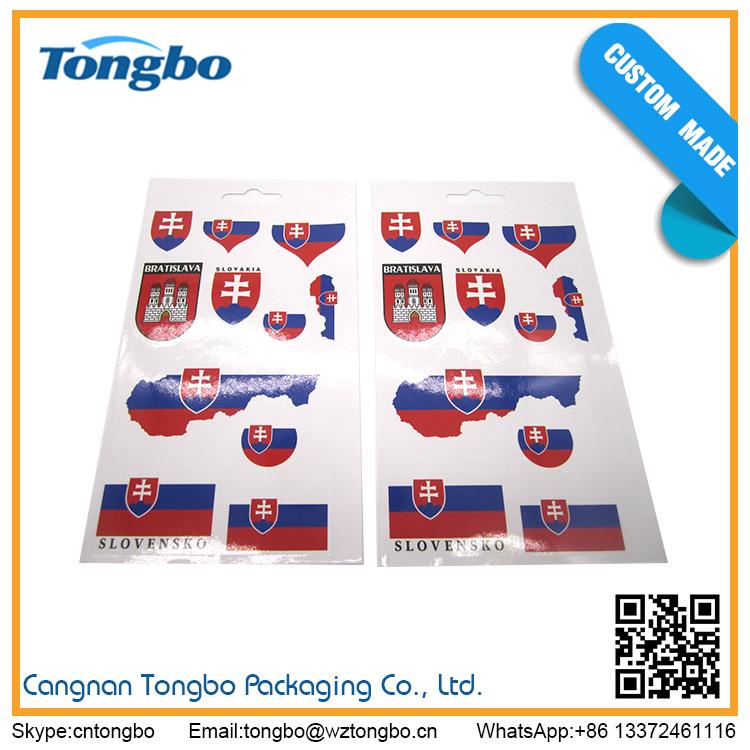 wholesale custom logo wall sticker waterproof car stickers