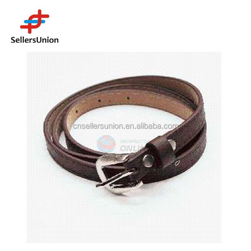 No.1 yiwu commission agent designed Factory export Women Classic PU Belts