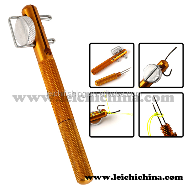 Gold color fly fishing accessory fly tying tool buy fly for Fish hook tying tool