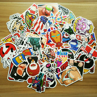 100 pcs pack Classic Fashion Style Graffiti stickers For Moto car & suitcase cool laptop skateboard sticker